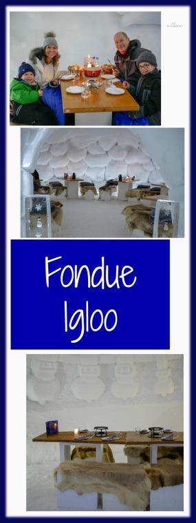 fondue igloo